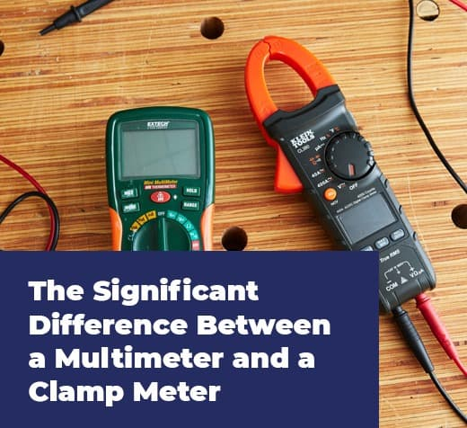 Significant Difference Between a Multimeter and a Clamp Meter